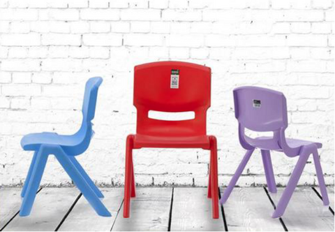 Signature Kids Chair with Backrest