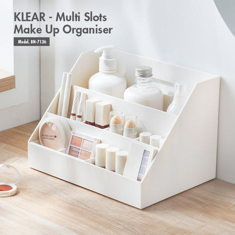 [BUY 1 FREE 1] KLEAR - Multi Slots Make Up Organiser - HOUZE - The Homeware Superstore