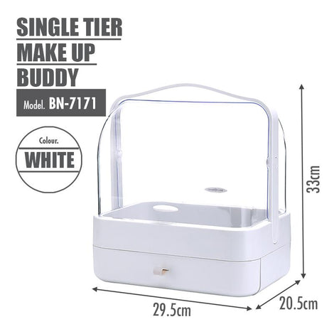 [BUY 1 FREE 1] Make Up Buddy (Single Tier) - HOUZE - The Homeware Superstore