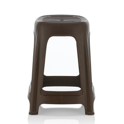 [SET OF 6] HOUZE Signature Haren Stool (Chocolate) - HOUZE - The Homeware Superstore