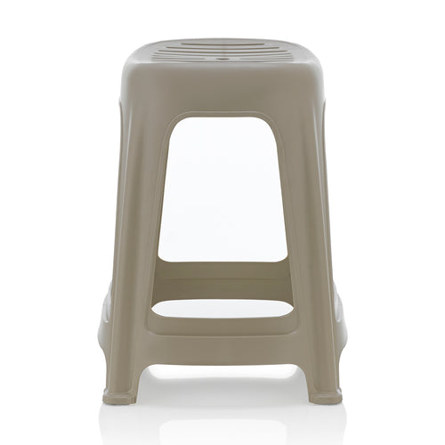 [SET OF 4] HOUZE Signature Haren Stool (Grey) - HOUZE - The Homeware Superstore