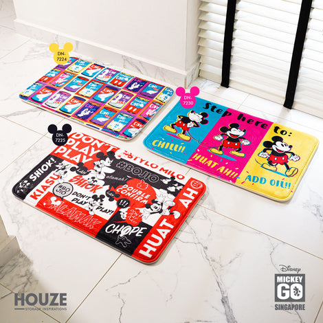 Don't Play Play - Memory Foam Mat (Disney) - HOUZE - The Homeware Superstore