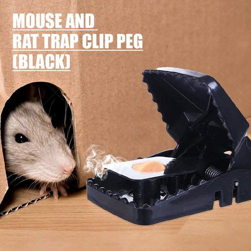 HOUZE - Mouse and Rat Trap Clip Peg (Black) - HOUZE - The Homeware Superstore
