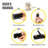 HOUZE - Mouse and Rat Trap Clip Peg (Black) - HOUZE