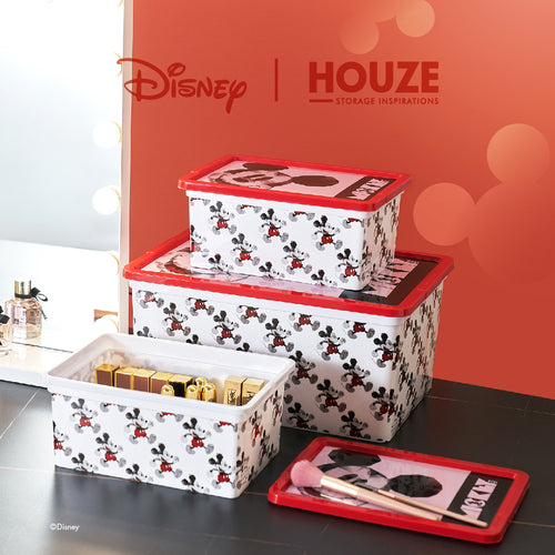 [3 For $49] Mickey - 15L Geometric Click Box (Disney)
