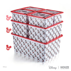 [3 For $99] Mickey - 40L Geometric Click Box (Disney)