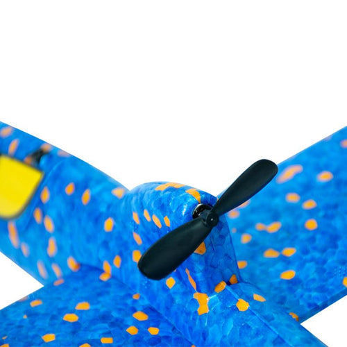 Barracuda Free Flying Plane (Black) - HOUZE - The Homeware Superstore