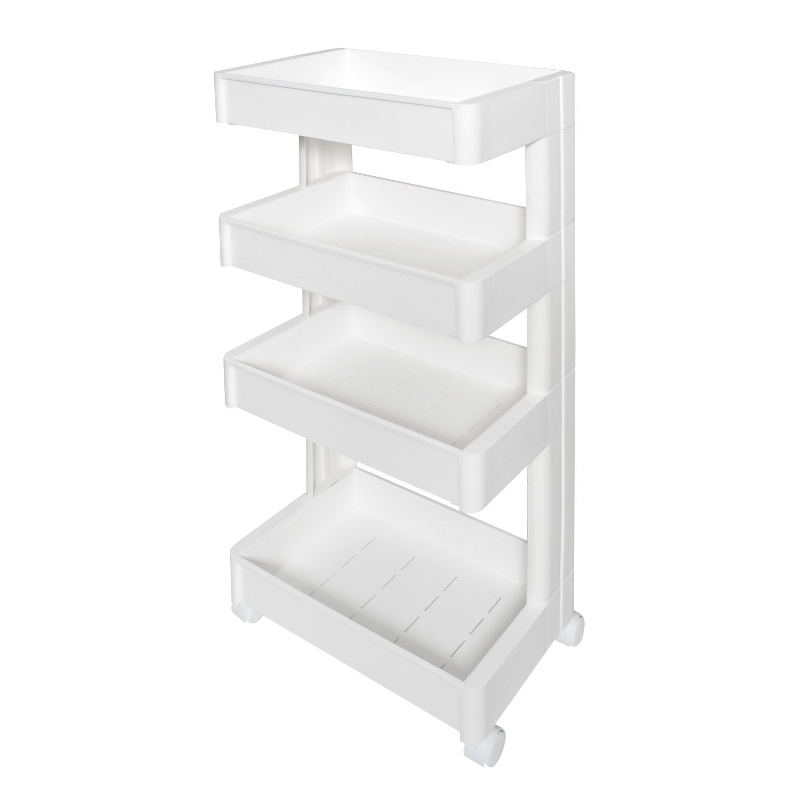 HOUZE - 4 Tier Storage Wagon with Wheels (Narrow) - HOUZE - The Homeware Superstore