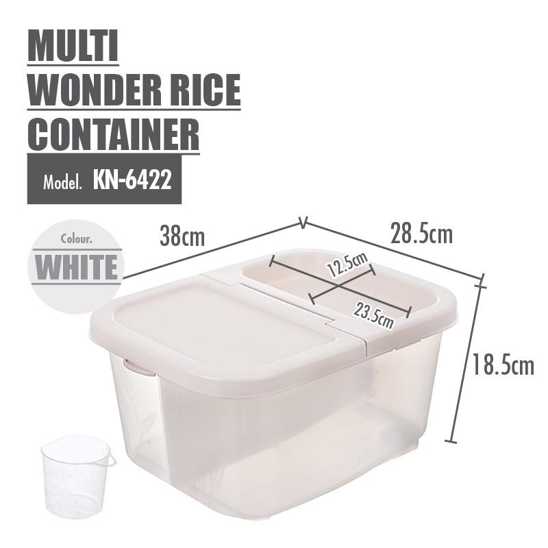 Multi Wonder Rice Container - HOUZE