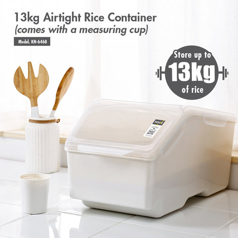 HOUZE - 13kg Air Tight Rice Container (Dim: 20x40x24cm) - HOUZE - The Homeware Superstore