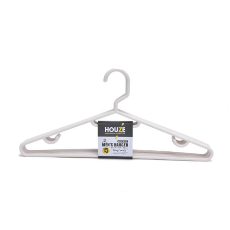 HOUZE - Men's Hanger (Set of 5) (Bottega White) - HOUZE - The Homeware Superstore