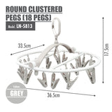 HOUZE - Round Clustered Pegs (18 Pegs) - HOUZE - The Homeware Superstore