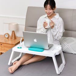 Foldable Laptop Buddy (Orange) - HOUZE - The Homeware Superstore