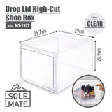 SoleMate - Drop Lid High-Cut Shoe Box - HOUZE - The Homeware Superstore