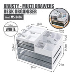 KRUSTY - Multi Drawers Desk Organiser - HOUZE - The Homeware Superstore