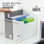 SEO Audit: HOUZE - Portable All-In-One File Box (Small) (Dim: 35 x 12 x 24cm) - HOUZE - The Homeware Superstore