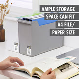 HOUZE - Portable All-In-One File Box (Large) (Dim: 35 x 26 x 24cm) - HOUZE - The Homeware Superstore
