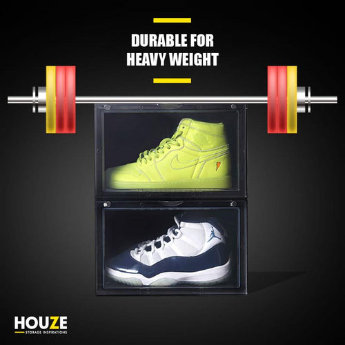 HOUZE - AJ Premium Jumbo Shoe Box (Clear) - HOUZE - The Homeware Superstore