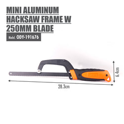 FINDER - Mini Aluminum Hacksaw Frame with 250mm Blade - HOUZE - The Homeware Superstore