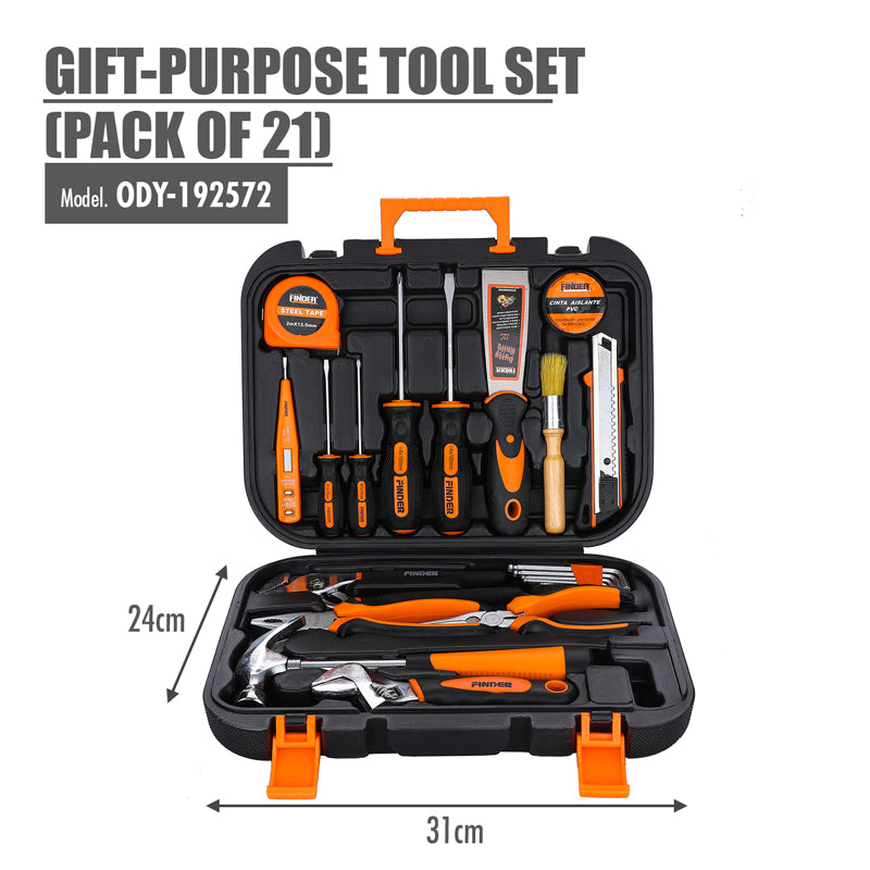 FINDER - Gift-Purpose Tool Set (Pack of 21) - HOUZE - The Homeware Superstore