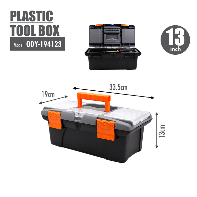 FINDER - Plastic Tool box (13 Inch) - HOUZE - The Homeware Superstore