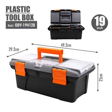 FINDER - Plastic Tool box (19 Inch) - HOUZE - The Homeware Superstore