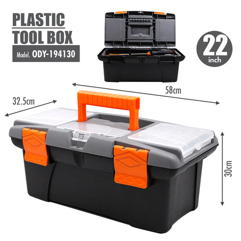 FINDER - Plastic Tool box (22 Inch) - HOUZE - The Homeware Superstore