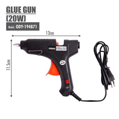 FINDER - Glue Gun (20W) - HOUZE - The Homeware Superstore