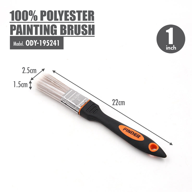 FINDER - 100% Polyester Painting Brush (1 Inch) - HOUZE - The Homeware Superstore