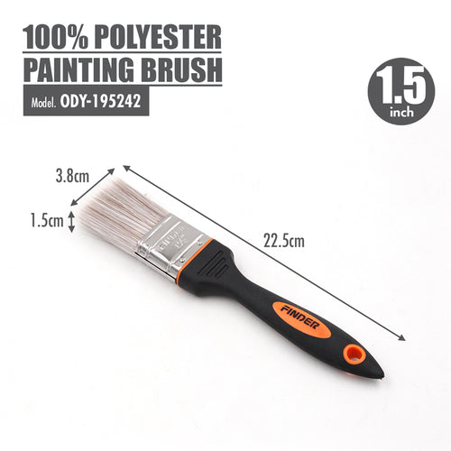 FINDER - 100% Polyester Painting Brush (1.5 Inch) - HOUZE - The Homeware Superstore