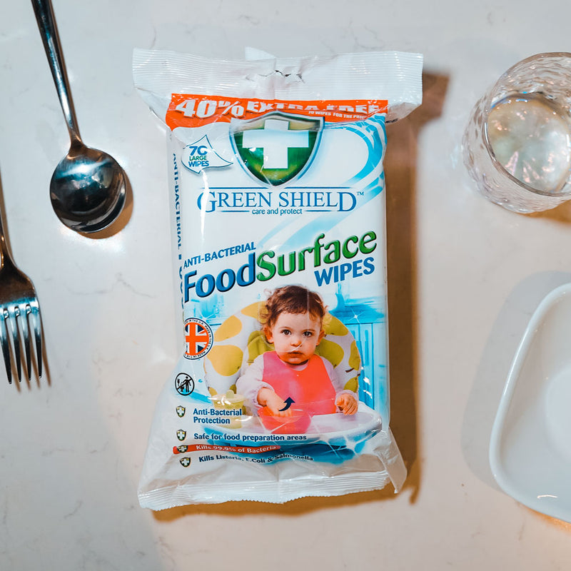 Greenshield Food Surface Wipes 70's - HOUZE - The Homeware Superstore