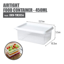Airtight Food Container - 450ml - HOUZE - The Homeware Superstore