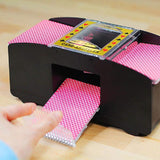 1-2 Deck Automatic Card Shuffler - HOUZE - The Homeware Superstore