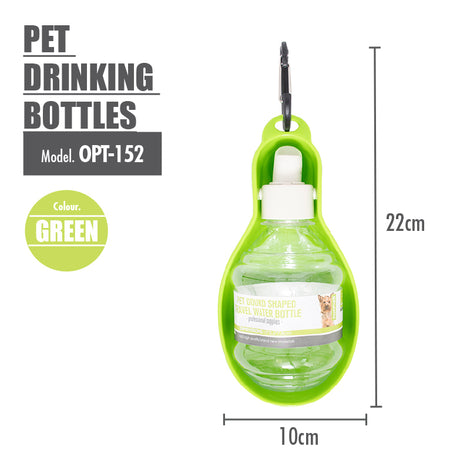 Pet Drinking Bottles ( Green ) - HOUZE