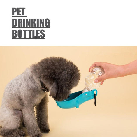 Pet Drinking Bottles (Turquoise)