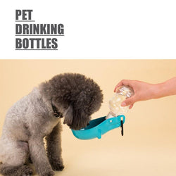 Pet Drinking Bottles (Black) - HOUZE - The Homeware Superstore
