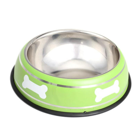 Pet Steel Bowl (26CM) - Green - HOUZE - The Homeware Superstore
