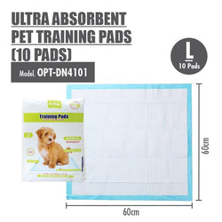 Large Size Ultra Absorbent Pet Training Pads - HOUZE - The Homeware Superstore