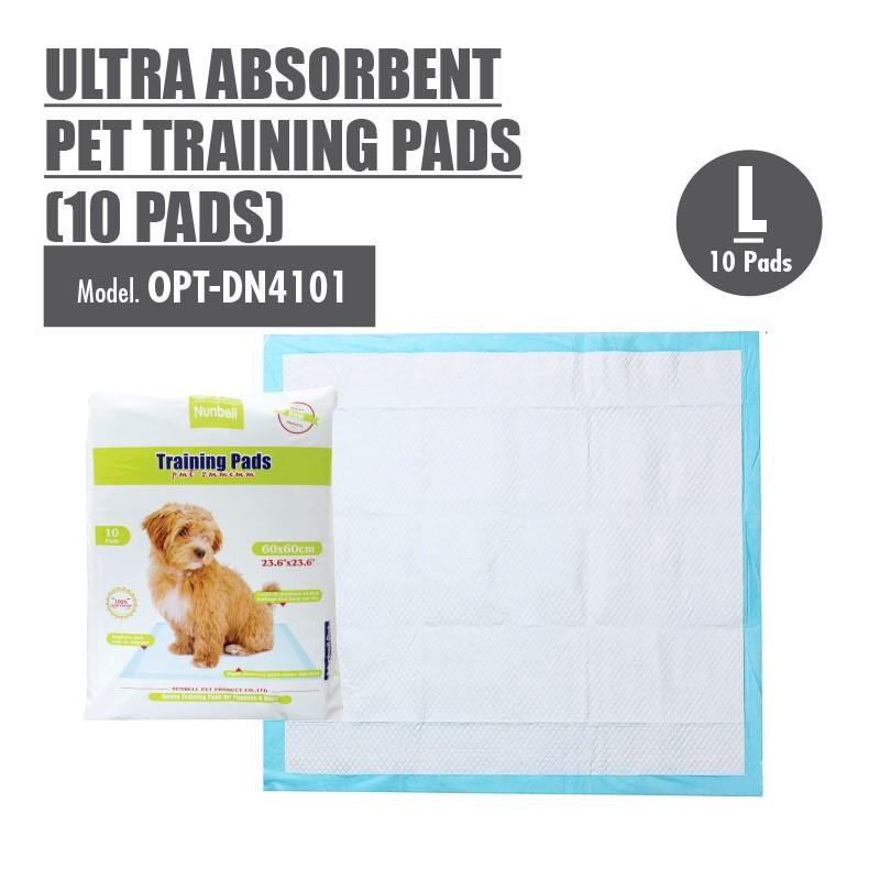 Large Size Ultra Absorbent Pet Training Pads 60x60cm (10pcs) - HOUZE - The Homeware Superstore
