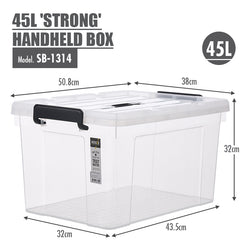 HOUZE - 45L 'STRONG' Handheld Box - HOUZE - The Homeware Superstore