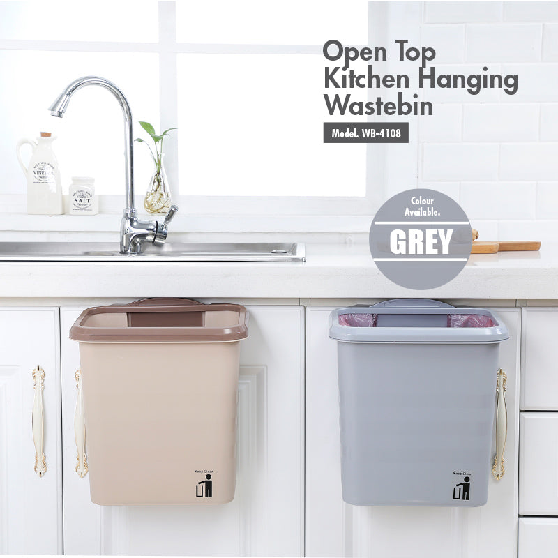 Open Top Kitchen Hanging Waste Bin - HOUZE - The Homeware Superstore