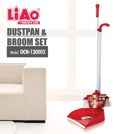 Cleaning Necessities - Liao Dustpan & Broom Set