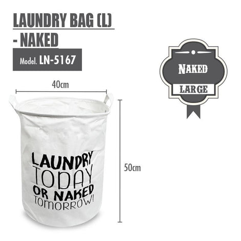 Laundry Necessities - HOUZE Laundry Bag (Large) - Naked