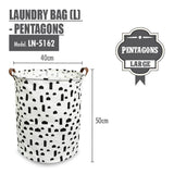 HOUZE - Laundry Bag (Large) - Pentagons - HOUZE - The Homeware Superstore