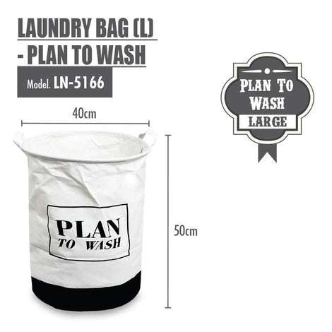 Laundry Necessities - HOUZE Laundry Bag (Large) - Plan To Wash