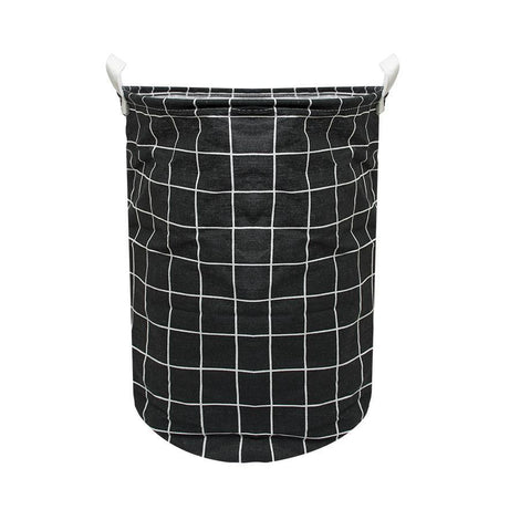 Laundry Necessities - HOUZE Laundry Bag (Small) - Black Checkers