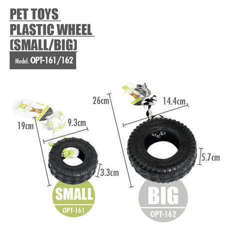 Pet Toys Plastic Wheel (Large) - HOUZE - The Homeware Superstore
