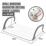 HOUZE - Wall Hanging Radiator Drying Airer (Large) - HOUZE - The Homeware Superstore