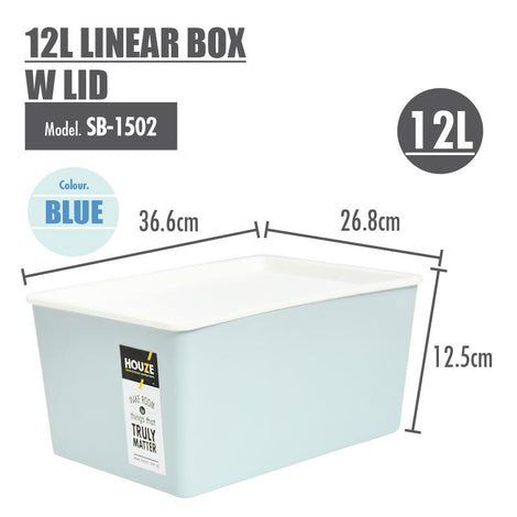 Storage Basket - Houze - 12L Linear Box