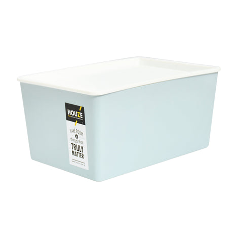 HOUZE 12L Linear Box - Blue - HOUZE - The Homeware Superstore